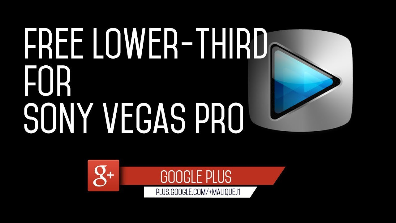 Free Lower Thirds Template Free Flat Lower Third Template for sony Vegas Pro