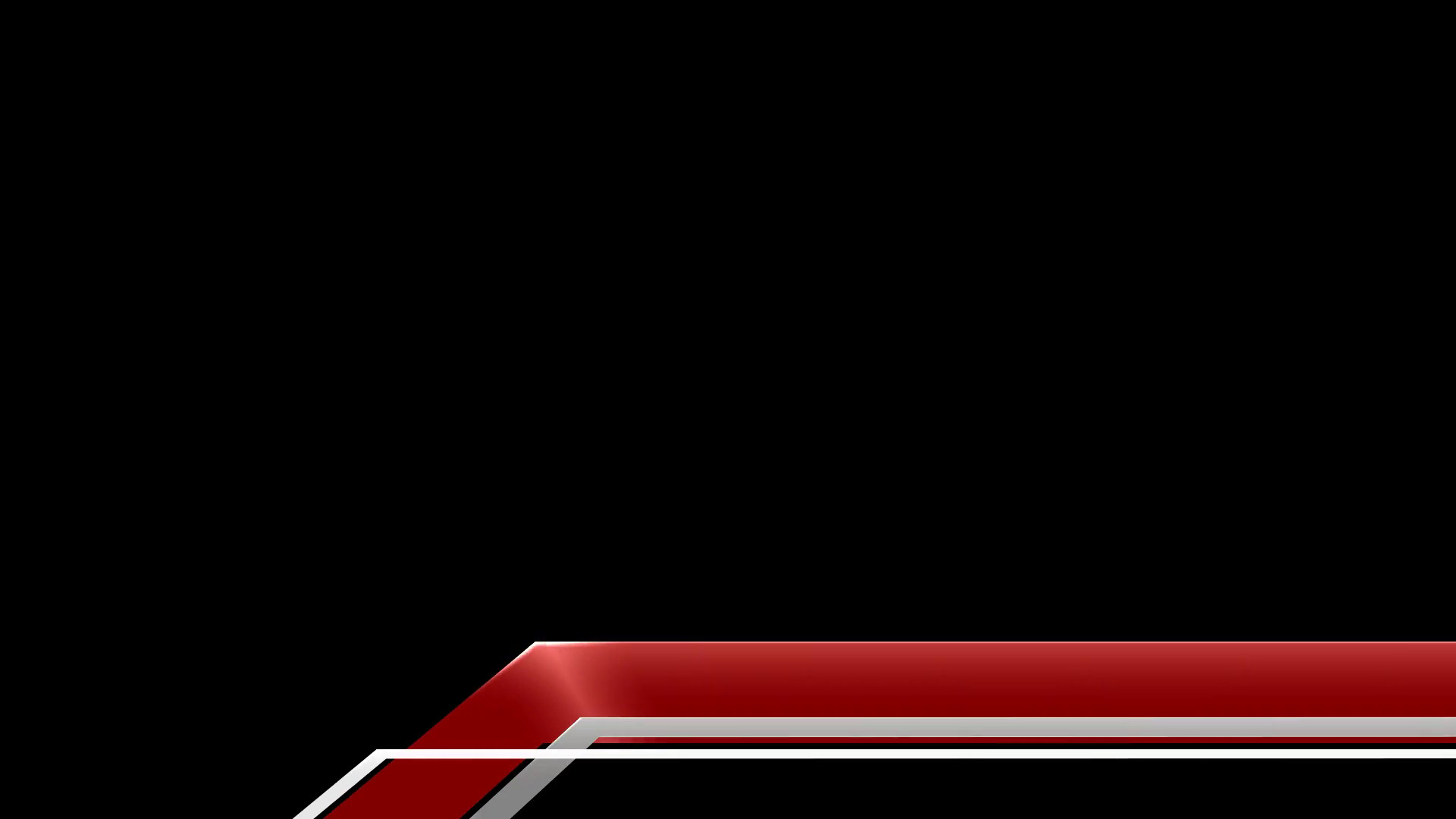 Free Lower Thirds Template Graphic Lower Third 9 Red Stock Video Footage
