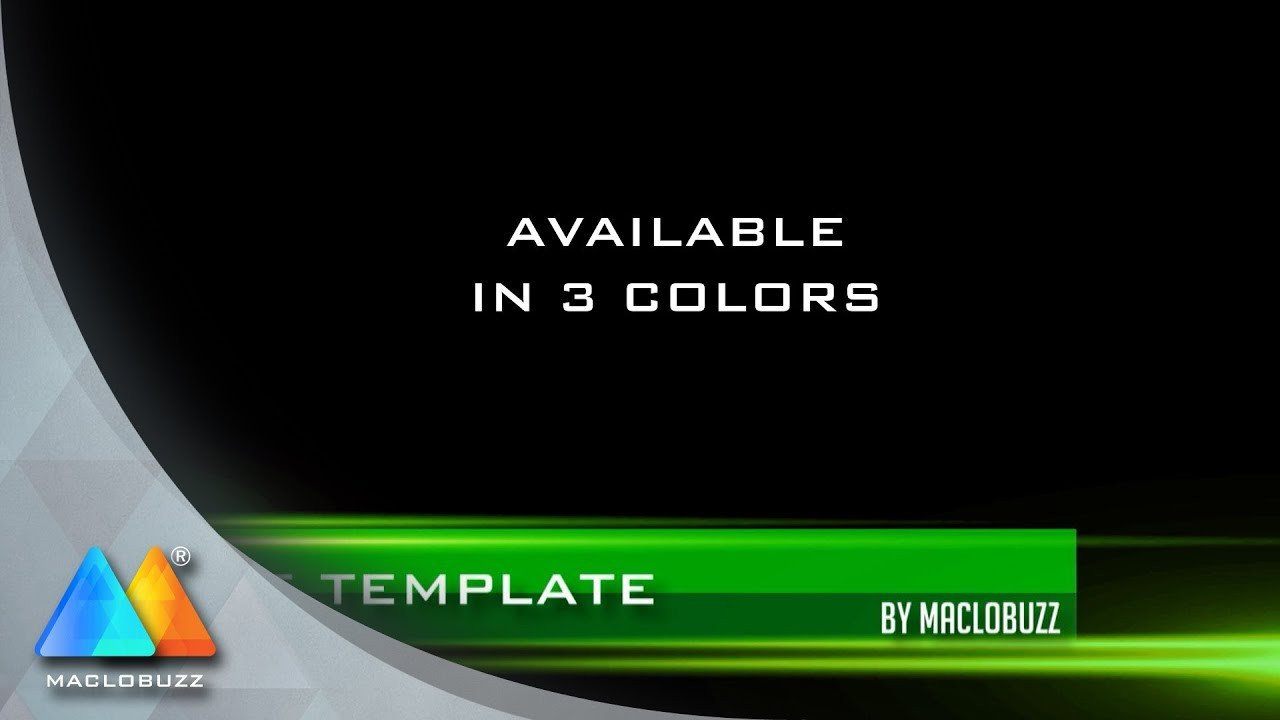 Free Lower Thirds Template Stripes Lower Third Free Template sony Vegas Pro 11