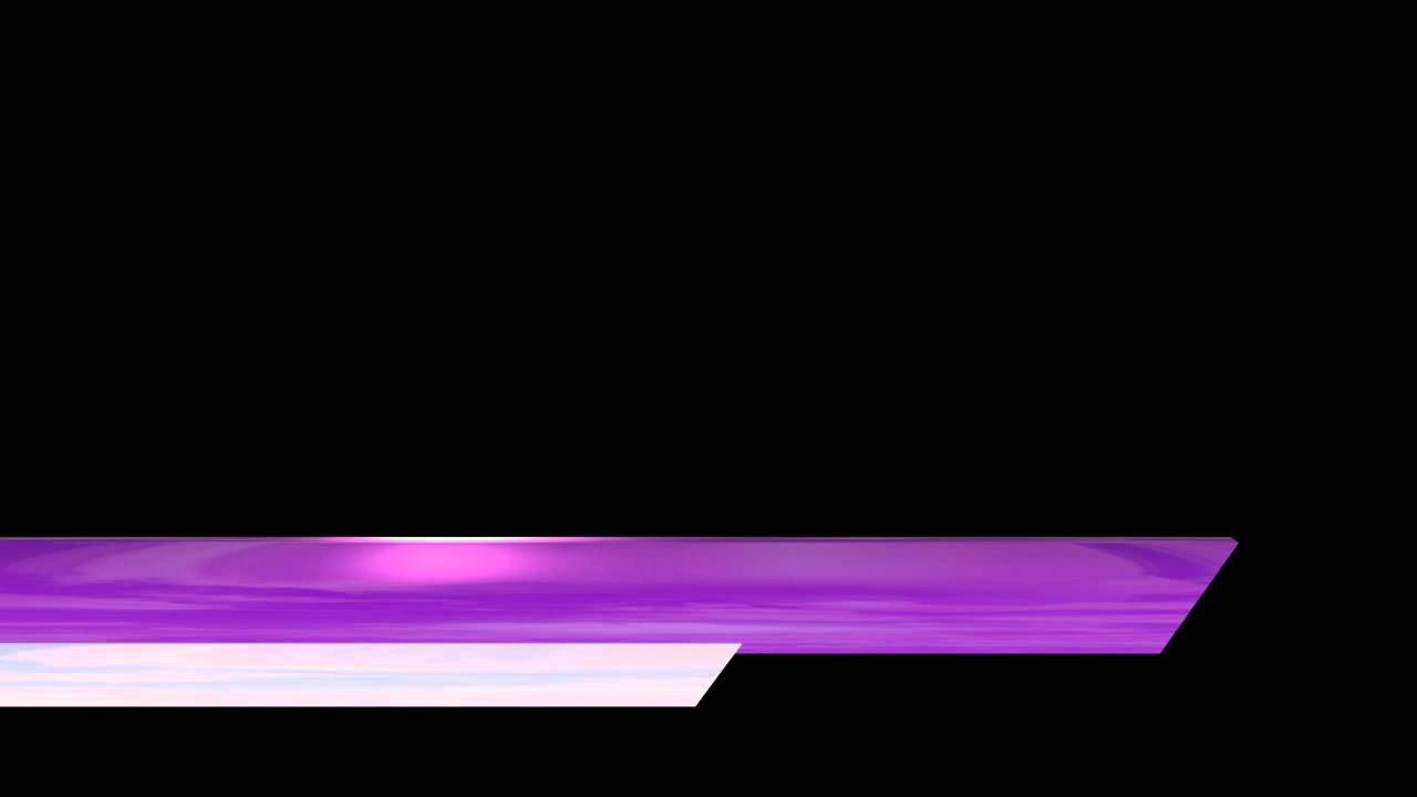 Free Lower Thirds Template Video Lower Third Shiny Purple White Bars Edge Cut