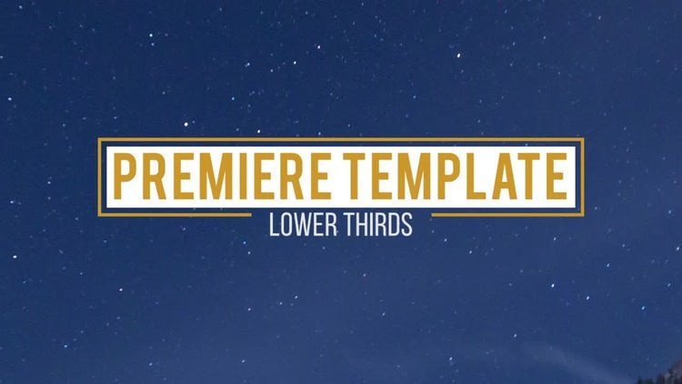 Free Lower Thirds Templates Premiere 10 Lower Thirds Premiere Pro Templates