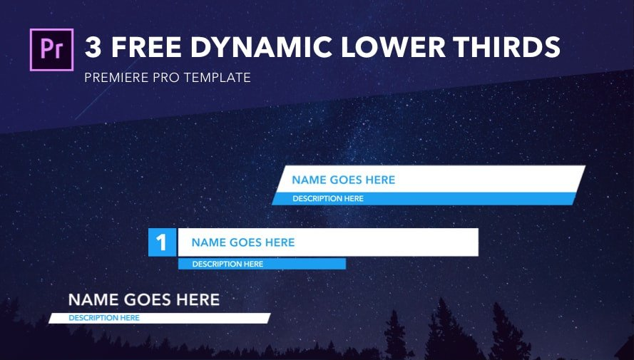 Free Lower Thirds Templates Premiere Download Your Free Making Production Documents and