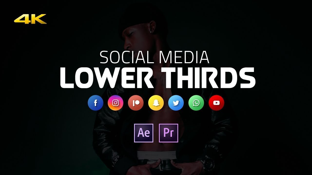 Free Lower Thirds Templates Premiere Free Lower Thirds Template for Premiere Pro after