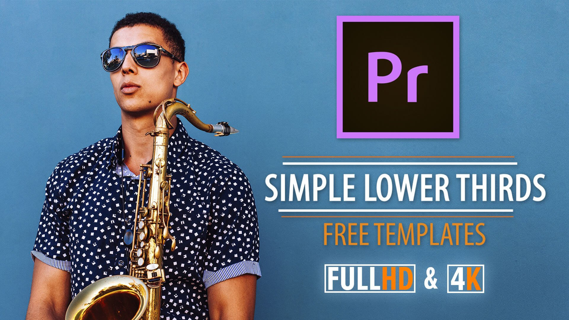 Free Lower Thirds Templates Premiere Simple Lower Thirds Templates for Premiere Pro