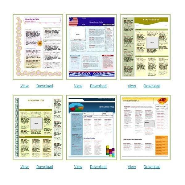 Free Microsoft Word Templates Free Church Newsletter Templates for Microsoft Word