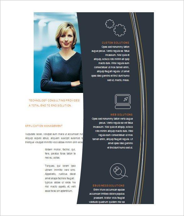 Free Microsoft Word Templates Microsoft Brochure Template 49 Free Word Pdf Ppt