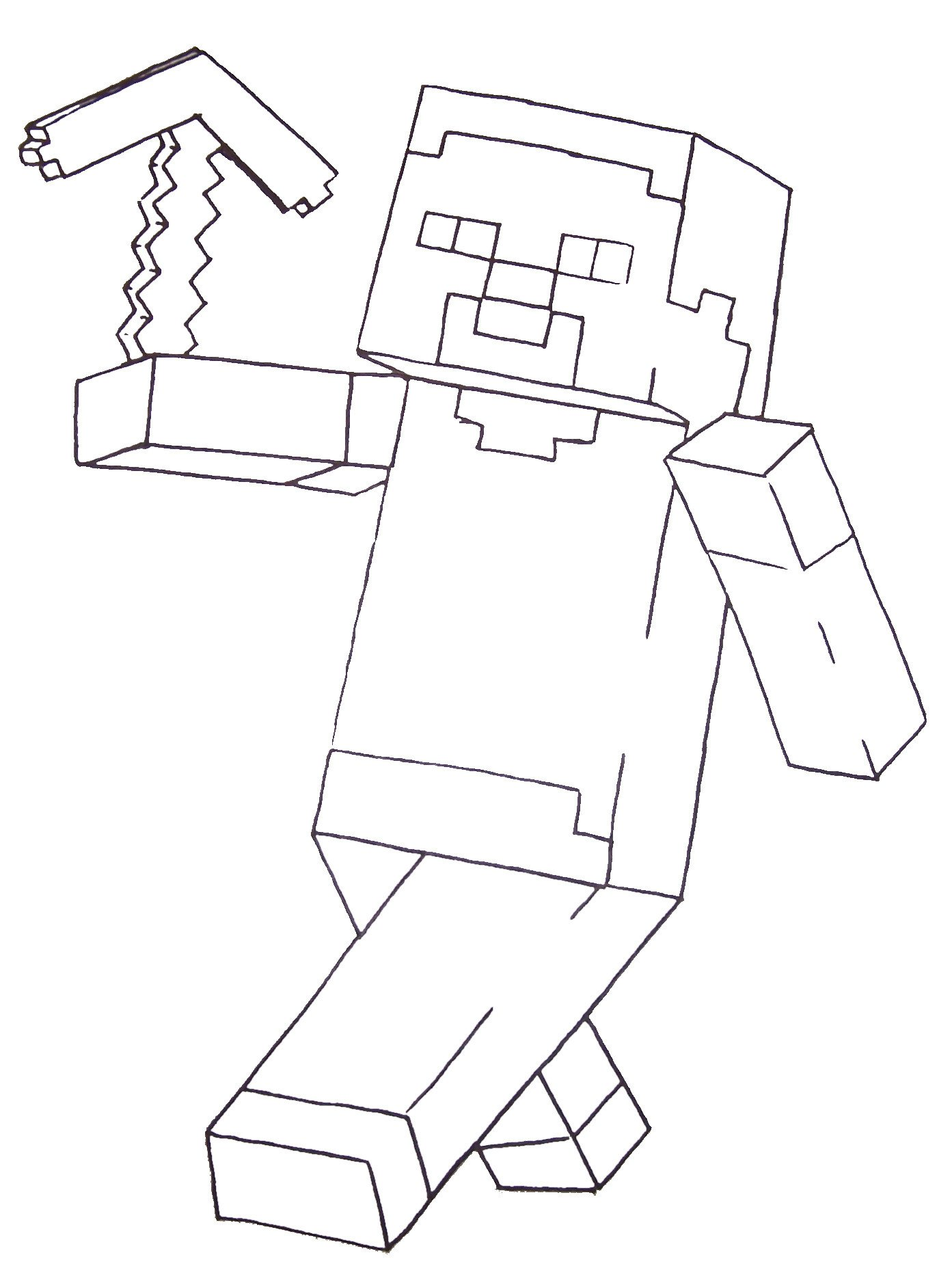 Free Minecraft Coloring Pages Fun Free Printable Coloring Pages for Boys Including