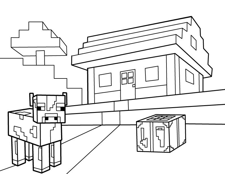 Free Minecraft Coloring Pages Minecraft Coloring Pages Best Coloring Pages for Kids