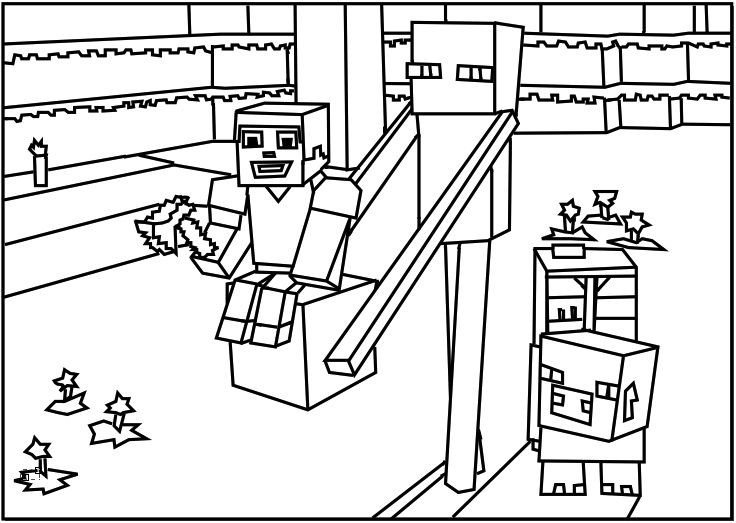Free Minecraft Coloring Pages Minecraft Coloring Pages Enderman Kids Stuff
