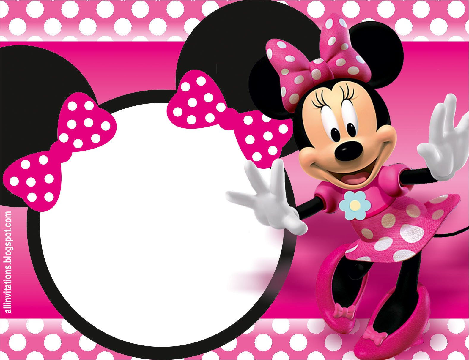 Free Minnie Mouse Invitations 32 Superb Minnie Mouse Birthday Invitations