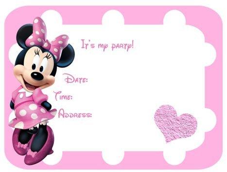 Free Minnie Mouse Invitations Best 25 Minnie Mouse Invitation Ideas On Pinterest