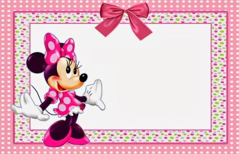 Free Minnie Mouse Invitations Minnie Mouse Free Printable Invitation Templates