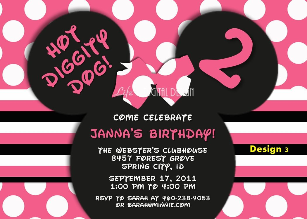Free Minnie Mouse Invitations Minnie Mouse Invitations Minnie Mouse Ears Invitation Minnie