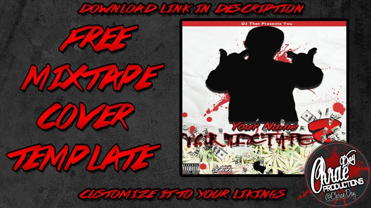 Free Mixtape Cover Templates Free Mixtape Cover Template Made by Chraeday