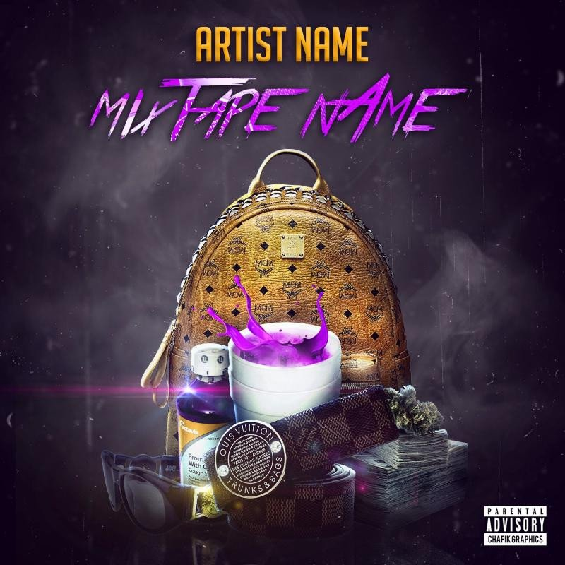 Free Mixtape Cover Templates Free Mixtape Covers Templates
