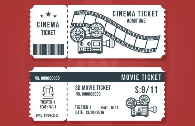 Free Movie Ticket Template 16 Free Ticket Design Templates for Download Designyep