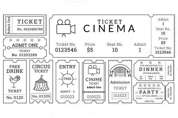 Free Movie Ticket Template 34 Movie Ticket Templates Psd Ai Word