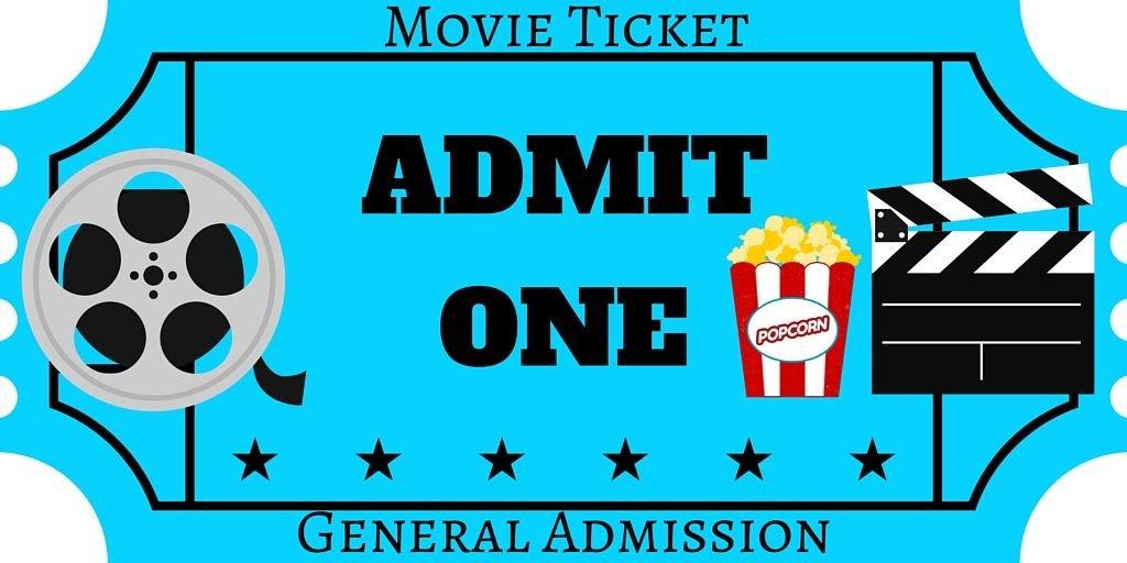 Free Movie Ticket Template Free Printables Movie