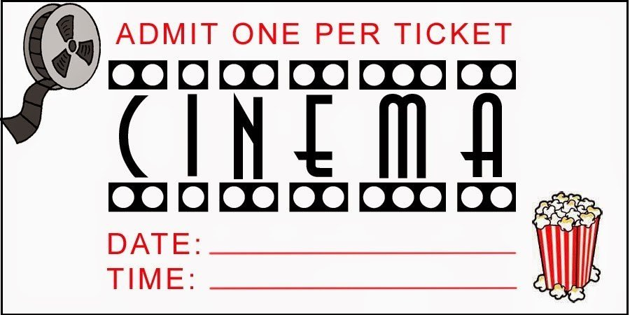 Free Movie Ticket Template Printable Movie Tickets Free Download the Best Home