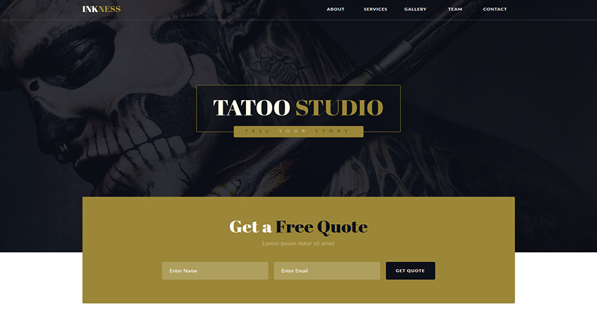 Free Muse Templates Responsive Best Adobe Muse Templates for Portfolio Sketchthemes