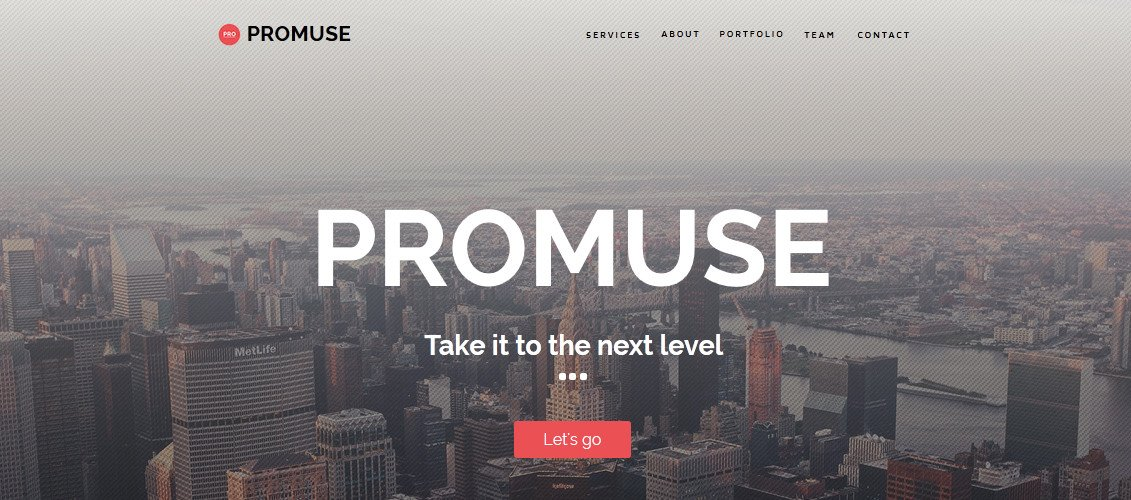 Free Muse Website Templates 20 Professional Corporate Muse Website Templates