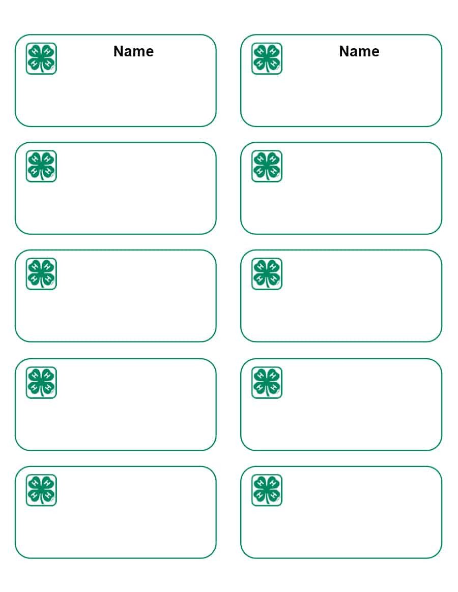 Free Name Tag Templates 47 Free Name Tag Badge Templates Template Lab