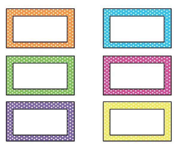 Free Name Tag Templates Free Name Tag Templates Kindergarten