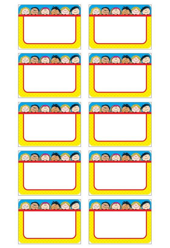 Free Name Tag Templates Name Tag Template