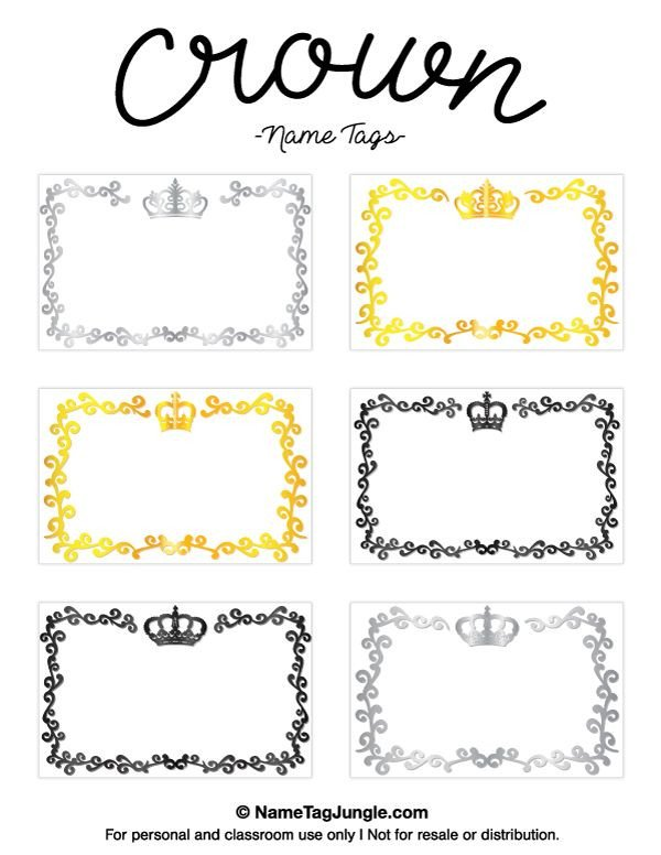 Free Name Tag Templates Pin by Muse Printables On Name Tags at Nametagjungle