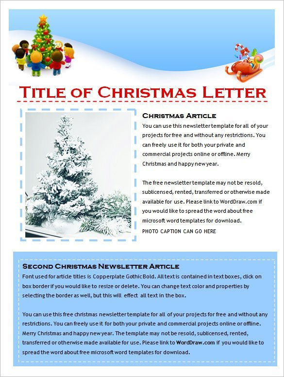 Free Newsletter Templates Download 27 Microsoft Newsletter Templates Doc Pdf Psd Ai