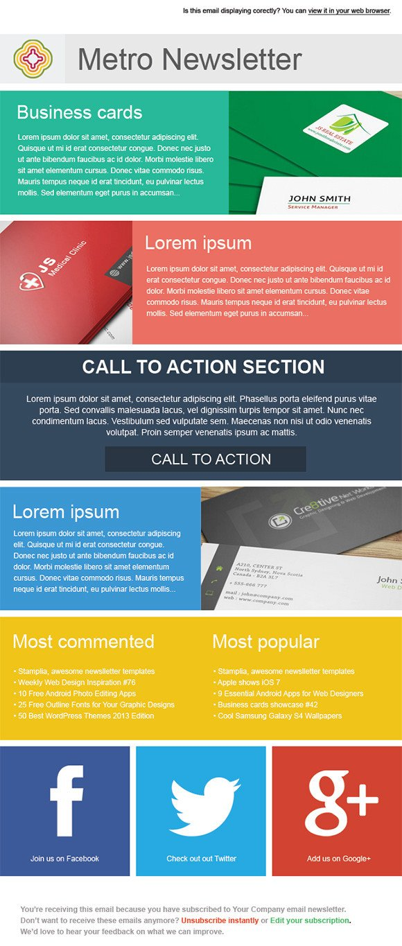 Free Newsletter Templates Download Sample Newsletter Templates 19 Download Documents In