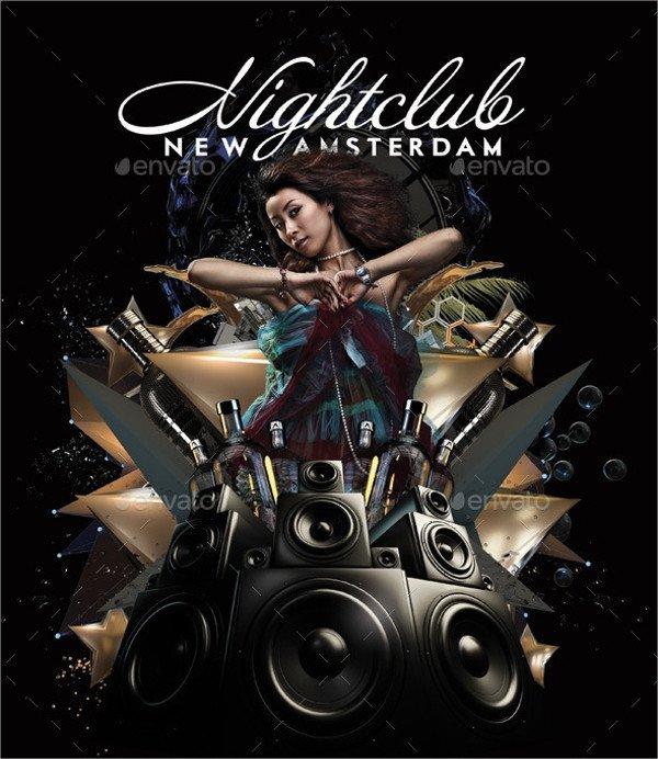 Free Nightclub Flyer Templates 26 Club Flyer Templates Vector Eps Psd