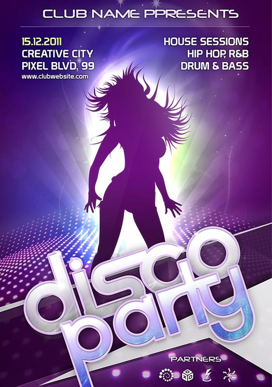 Free Nightclub Flyer Templates 60 Best Free Flyer Templates Psd