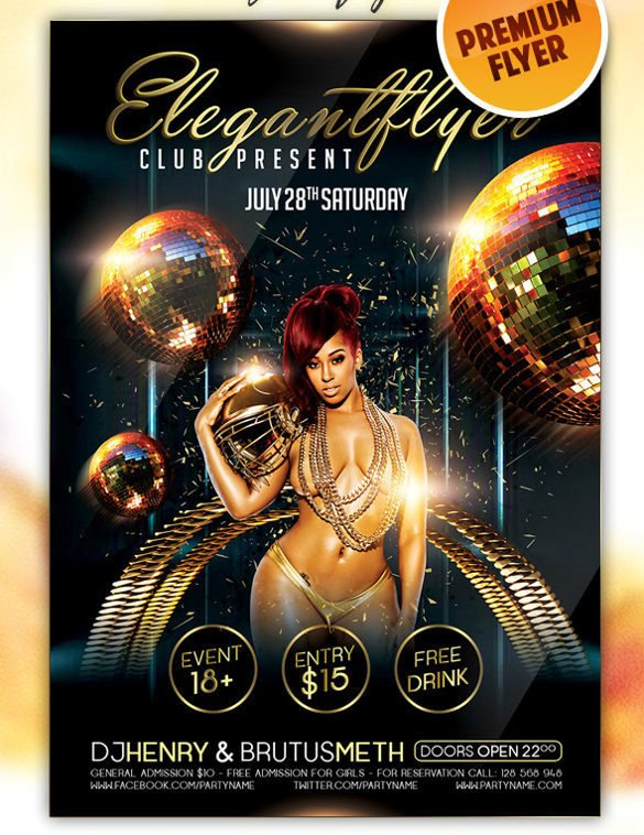 Free Nightclub Flyer Templates Car Club bylaws Template Templates Resume Examples