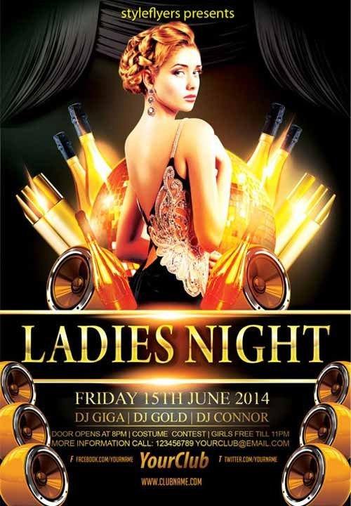 Free Nightclub Flyer Templates Elegant La S Night Party Free Flyer Template