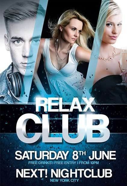 Free Nightclub Flyer Templates Free Psd Flyer Templates to Download for Shop