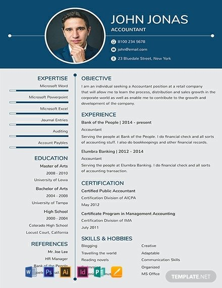 Free One Page Resume Template 92 Free E Page Resume Templates [download Ready Made