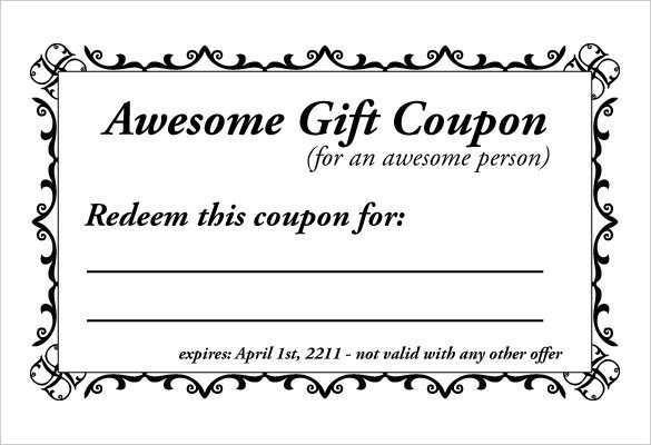 Free Online Coupon Maker Template 28 Homemade Coupon Templates – Free Sample Example