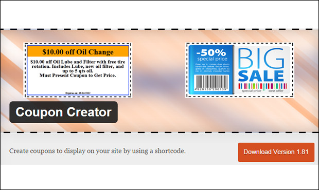 Free Online Coupon Maker Template 40 Best Wordpress Coupon Plugins