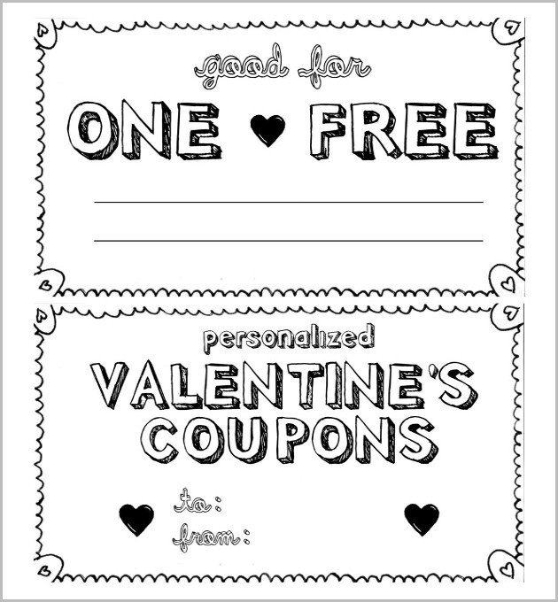Free Online Coupon Maker Template Homemade Coupon Design
