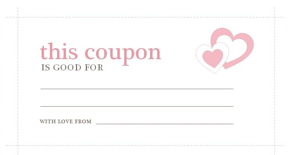 Free Online Coupon Maker Template Love Coupon Template Microsoft Word