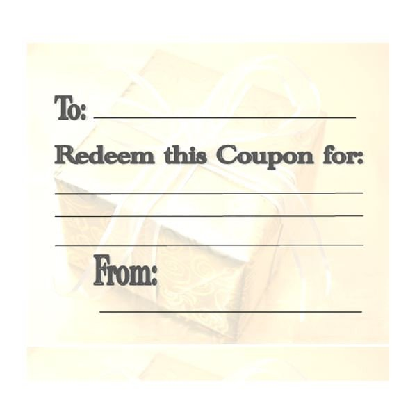 Free Online Coupon Maker Template Make Your Own Customizable Coupon Book Free Printables