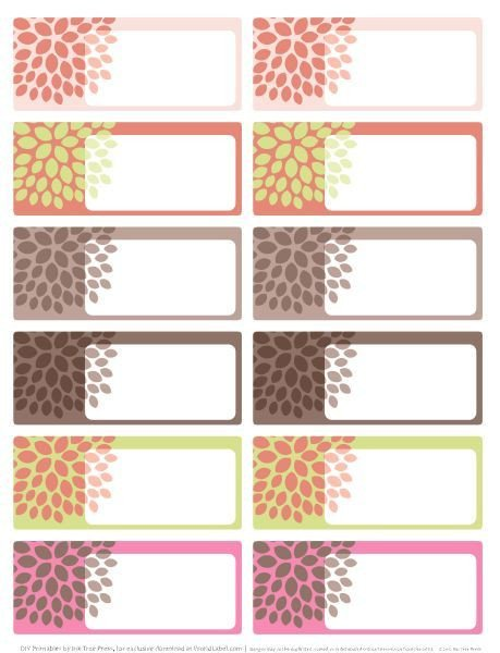 Free Online Label Templates Great Printable Labels We Ll Use them to Label their
