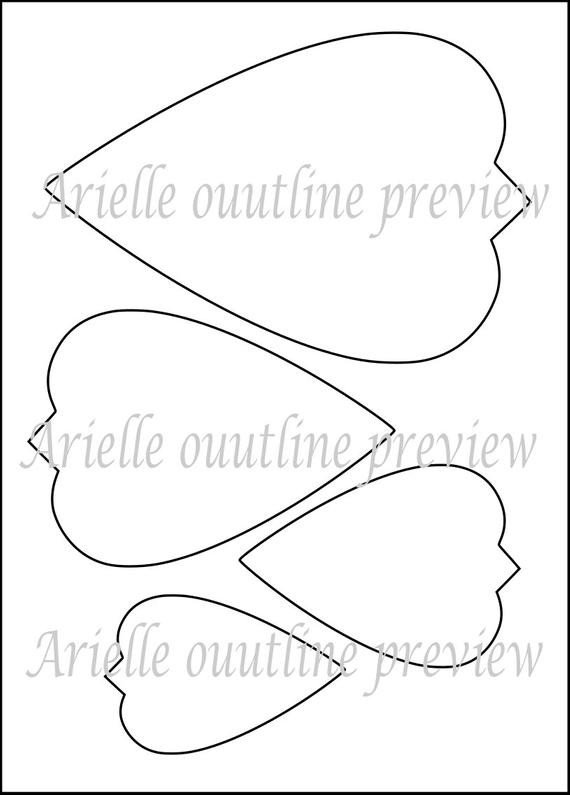 Free Paper Flower Templates Diy Giant Paper Flower Printable Templates Flower Template