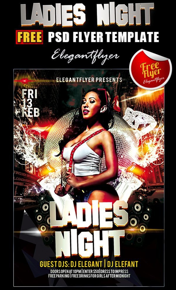 Free Party Flyer Templates 31 Free Psd Party & Club Flyer Templates March 2015 Edition