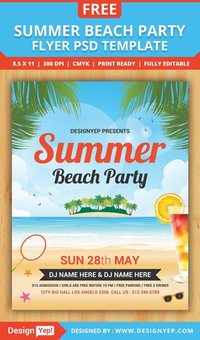 Free Party Flyer Templates 55 Free Party & event Flyer Psd Templates Designyep