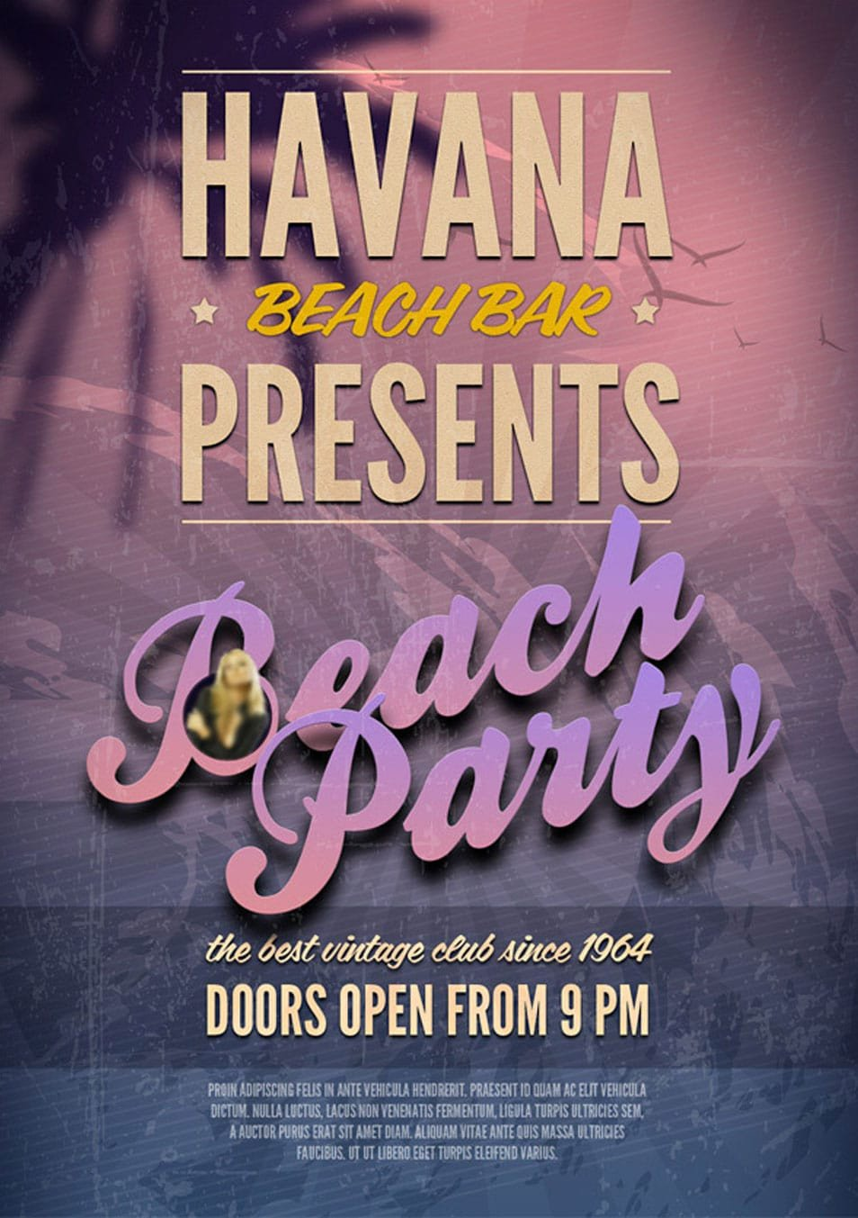 Free Party Flyer Templates 60 Best Free Flyer Templates Psd