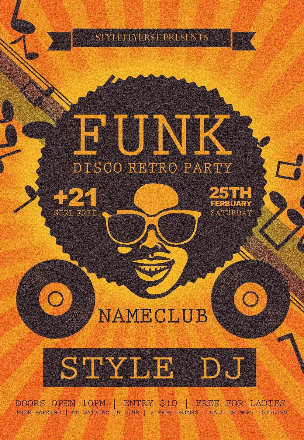 Free Party Flyer Templates New Party Season Free Psd Flyer Templates Graphicsfuel