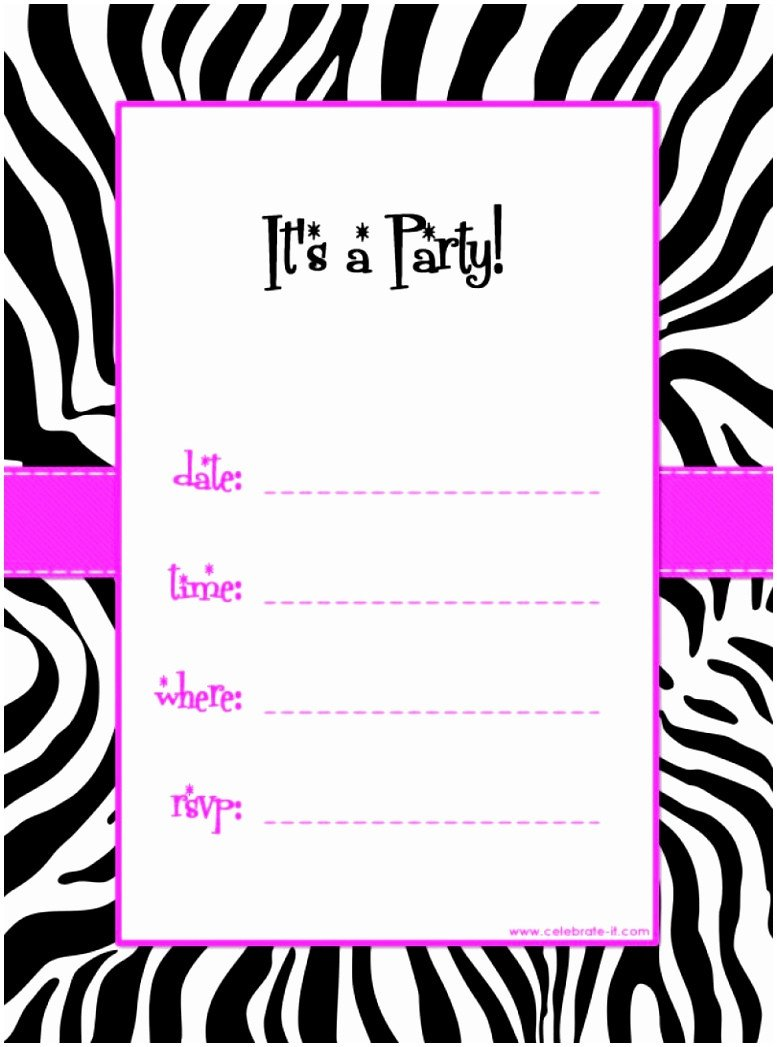 Free Party Invitation Template Word 5 Free Party Invitations Templates to Print Auiwu