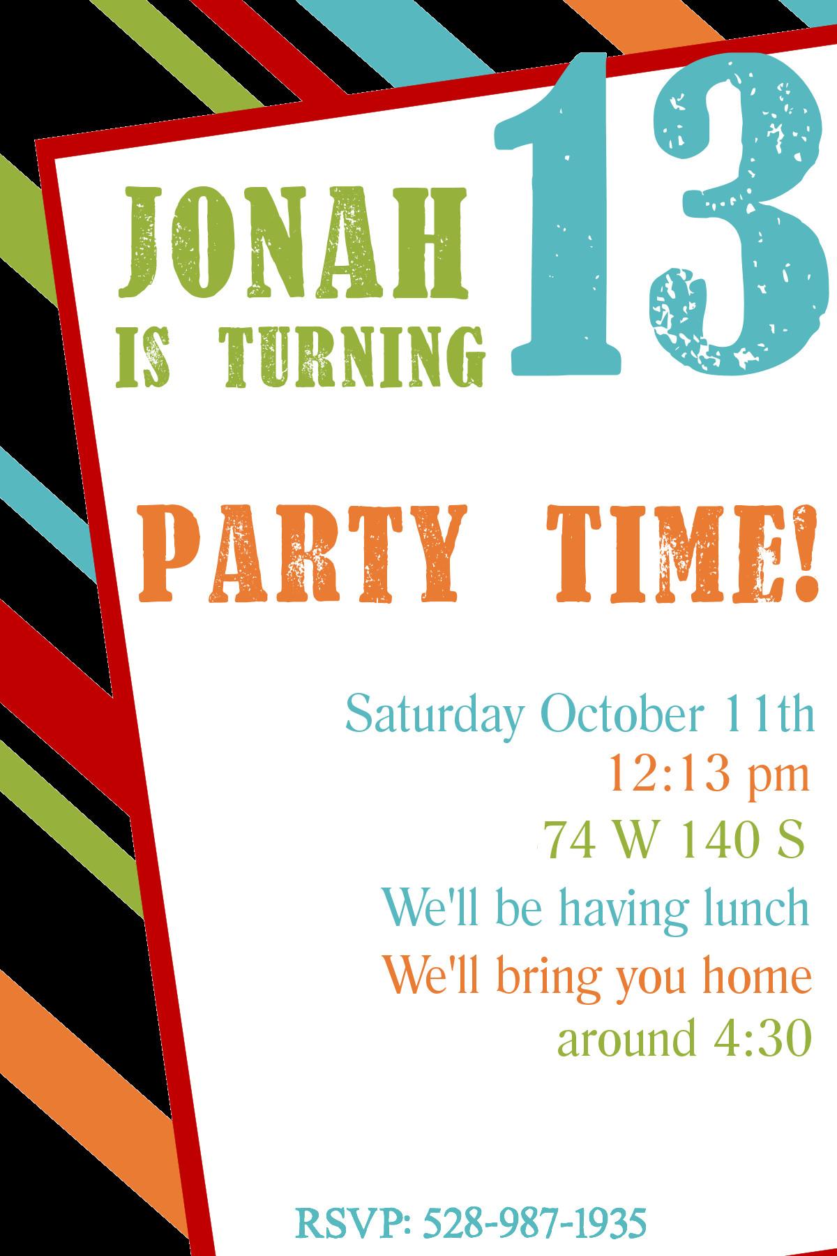 Free Party Invitation Template Word Free Printable Birthday Invitation Templates